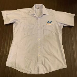 USPS city carrier shirt in size 16
